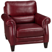 Burgundy Leather Chair