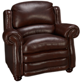 Davenport Leather Chair