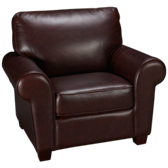 Sock Arm Leather Chair