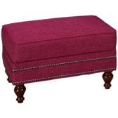 Janelle Ottoman (also available in Sunbrella)