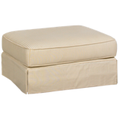 Yellow Ottoman (also available in Sunbrella)