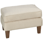 UE Tightback Ottoman with Nailhead