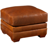 Cassidy Leather Ottoman