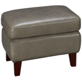 Manhattan Leather Ottoman