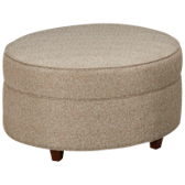 Philip Round Accent Ottoman (also available in Sunbrella)