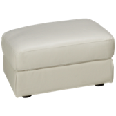 Delaney Leather Ottoman