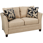 Taylor Sleep Twin Memory Foam Sleeper Loveseat