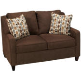 Twin Sleeper Loveseat with Memory Foam Mattress