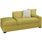 Right Arm Facing Chaise Sleeper