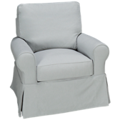 Sullivan Swivel Glider with Slipcover