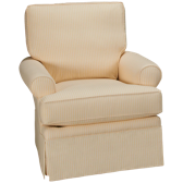 Yellow Swivel Glider