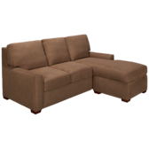 Kayln Queen Sleeper Sofa Plus Left Arm Chaise/Storage Ottoman