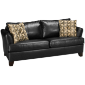 Bonded Leather Full Sleeper Sofa