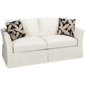 Full Memory Foam Sleeper Loveseat