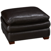 Hogan Large Leather Ottoman