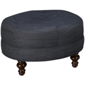 Solutions Round Cocktail Ottoman