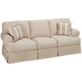 Queen Sleeper Sofa with Slipcover