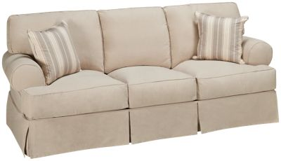 synergy montague queen sleeper sofa with slipcover