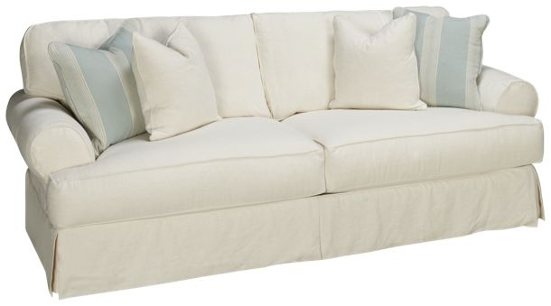 Sofa With Slipcover Rowe Easton Casual Sectional Sofa With
