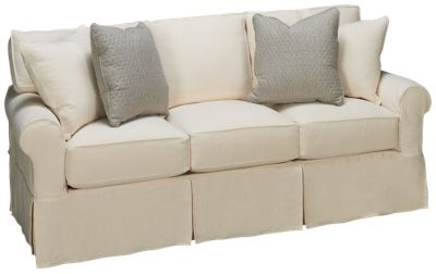 rowe nantucket queen sleeper sofa with slipcover