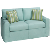 Loveseat with Slipcover