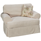 Addison Chair with Slipcover