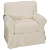 Nantucket Chair with Slipcover