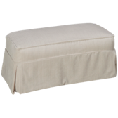 Addison Ottoman with Slipcover