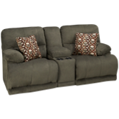 Loveseat Recliner with Console