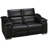 Metro Leather Power Loveseat Recliner