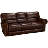 Leather Power Sofa Recliner