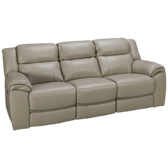 Adelino Leather Power Sofa Recliner