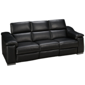 Metro Leather Power Sofa Recliner