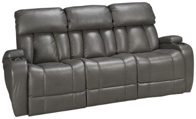 Synergy  Jamestown Synergy Jamestown Power Sofa Recliner With Console And  Power Tilt Headrest   Jordanu0027s Furniture