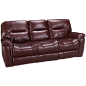 Bonded Leather Power Sofa Recliner