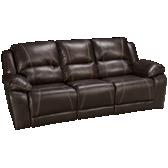 Blackjack Bonded Leather Sofa Recliner