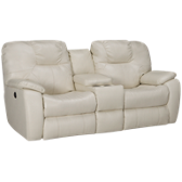 Bonded Power Sofa Recliner with Console