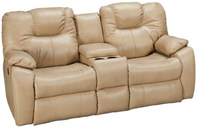 southern motion avalon power sofa recliner with console furniture