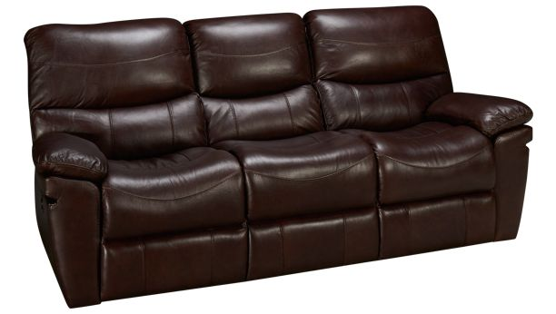 Synergy-Cooper-Synergy Cooper Leather Power Sofa Recliner ...