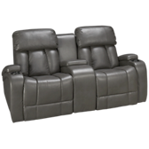 Jamestown Power Loveseat Recliner with Console