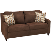 Full Sleeper Loveseat with Memory Foam Mattress