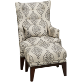 Charleston Accent Chair and Ottoman