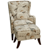 Hillsboro Accent Chair and Ottoman