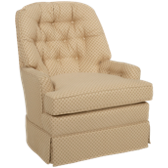 Millie Accent Swivel Rocker (also available in Sunbrella)