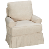 Landon Swivel Glider with Slipcover
