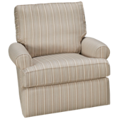 Roll Arm Swivel Glider