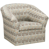 Clifton Accent Swivel Glider (also available in Sunbrella)