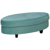 Accent Oval Ottoman