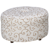 UE Tight Back Accent Ottoman