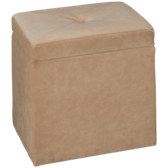 Lehigh Storage Cube Ottoman with Casters